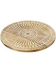 Ochoos Square Lazy Susan 360 inches Rotating Rolling Bearing Turntable 300 lbs Bearings Plate Length: -, Diameter: 3 inches