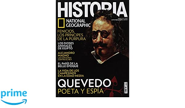 Historia National Geographic. Nro. 173. Mayo 2018: Amazon.es: National Geographic: Libros