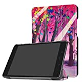 Dreamyth Durable Folding Stand Leather Case Cover For ASUS ZenPad Z8s ZT582KL 7.9 inch Tablet 2017 Tablet (Multicolor C)