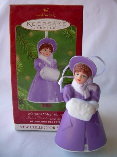 Hallmark Keepsake Ornament - Porcelain Margaret Meg March by Madame Alexander 2001 (QX6315)