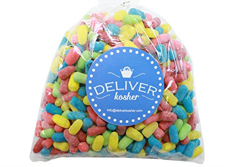 Deliver Kosher Bulk Candy - Mike & Ike Zours - 1lb Bag -