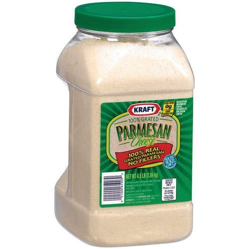 Kraft Grated Parmesan Cheese, 4.5 Pound -- 4 per case. by Kraft