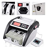 Koval Inc. Money Counter Multi-Currency Bill Counterfeit Detector UV MG (White w/ Black)
