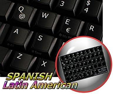Espagnol amérique latine non transparent autocollant de clavier