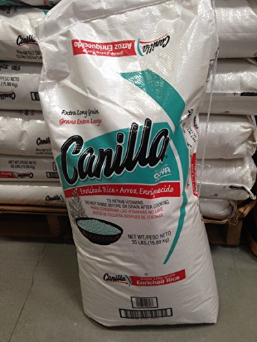 Canilla rice 35 lb (pack of 2) by Canilla