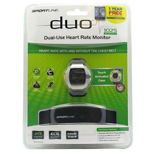 (Sportline 1025 Women's Duo Heart Rate Monitor)