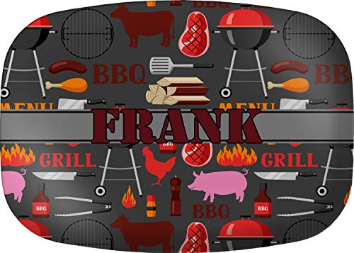 Personalized Melamine Platter - Barbeque Melamine Platter (Personalized)