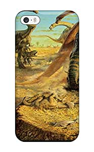 Best Awesome Dinosaur Flip Case With Fashion Design For Iphone 5/5s 3948544K34039751