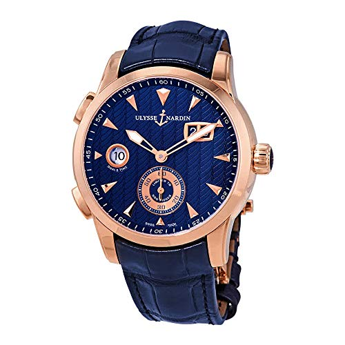 Ulysse Nardin Classic Dual Time Automatic Men's GMT Limited Edition Watch 3346-126LE/93 ()