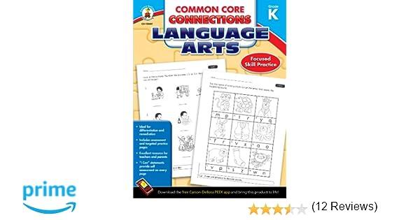 Amazon.com: Common Core Connections Language Arts, Grade K ...