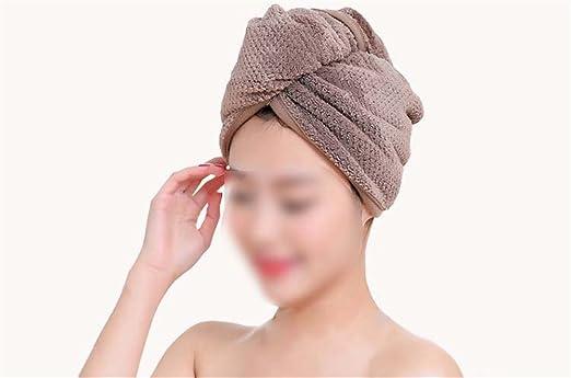 Frottee Haar Turban Kopfhandtuch Kopftuch Schnell Trocknen Haar Hut Haarpflege
