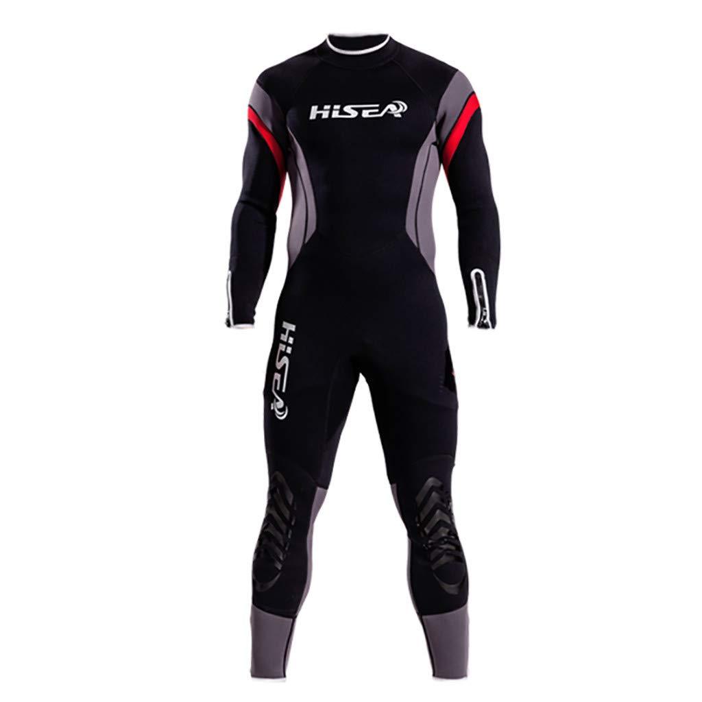 フルボディ ダイブ ウェットスーツ スポーツ スキン ラッシュガード メンズ レディース UV保護 長袖 ワンピース シュノーケリング サーフィン スキューバ ダイビング 水泳 カヤック セーリング カヌー X-Large ブラック B07Q4SH61J