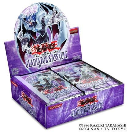 YuGiOh GX Gladiators Assault 1st EDITION Booster Box 24 Packs