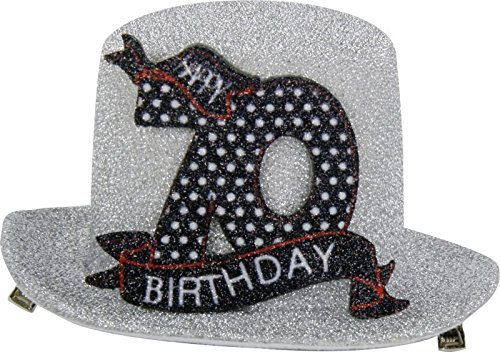 1 STK. Sombrero de fiesta de cumpleaños 70 años Fiesta ...