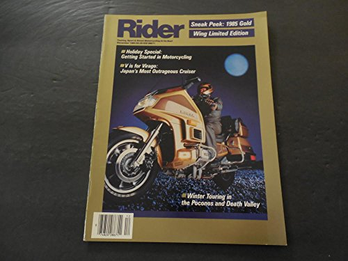 Rider Dec 1984 Gold Wing Ltd Ed; Virago; Touring Poconos; Death Valley ()