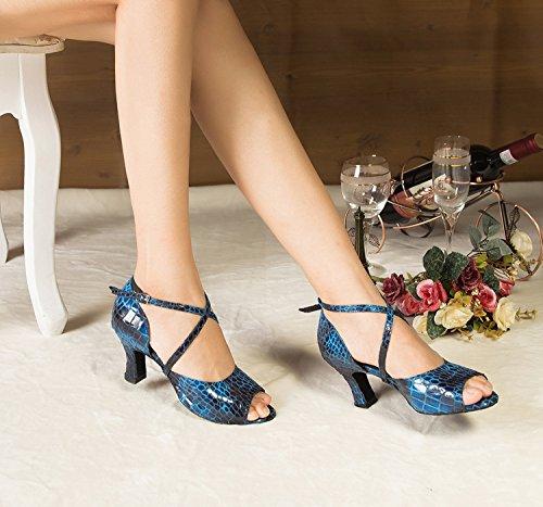 Miyoopark - salón mujer Blue-7cm heel