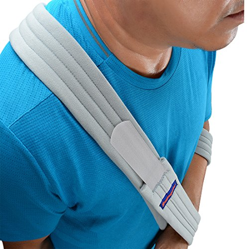 how to put on a sling for broken elbow
