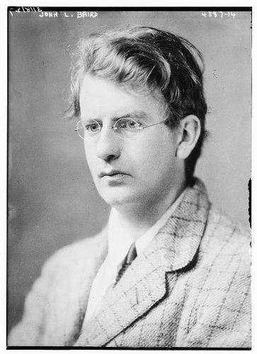 Photo: John Logie Baird,1888-1946,Scottish engineer,invention of television