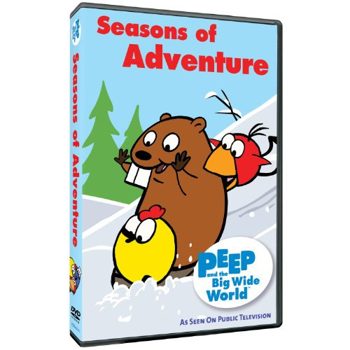 peep and the big wide world dvd - 1