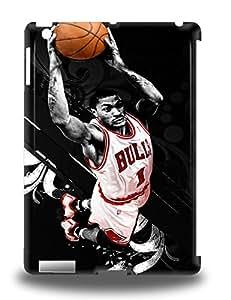 Tpu Shockproof Dirt Proof NBA Chicago Bulls Derrick Rose #1 Cover 3D PC Case For Ipad Air ( Custom Picture iPhone 6, iPhone 6 PLUS, iPhone 5, iPhone 5S, iPhone 5C, iPhone 4, iPhone 4S,Galaxy S6,Galaxy S5,Galaxy S4,Galaxy S3,Note 3,iPad Mini-Mini 2,iPad Air )