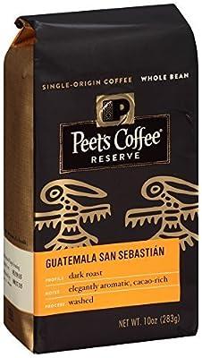 Peet's Coffee & Tea Whole Bean, Guatemala San Sebastian, 10 Ounce by Peet's Coffee & Tea