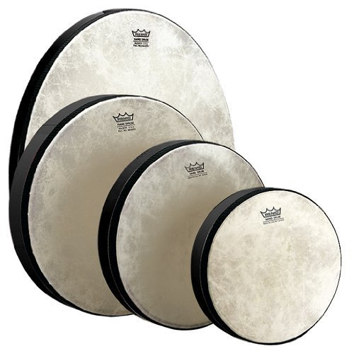 REMO 10 INCH BLACK FRAME DRUM by Remo