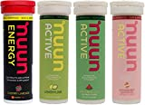 Cheap NUUN Hydration New Mixed 4 New Flavors for Electrolyte Hydration Tablets (Cherry Limeade – Active Watermelon – Active Lemon Lime – Active Strawberry Lemonade)