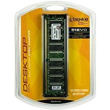 Kingston ValueRAM 512MB 400MHz PC3200 DDR Desktop Memory (KVR400/512R)