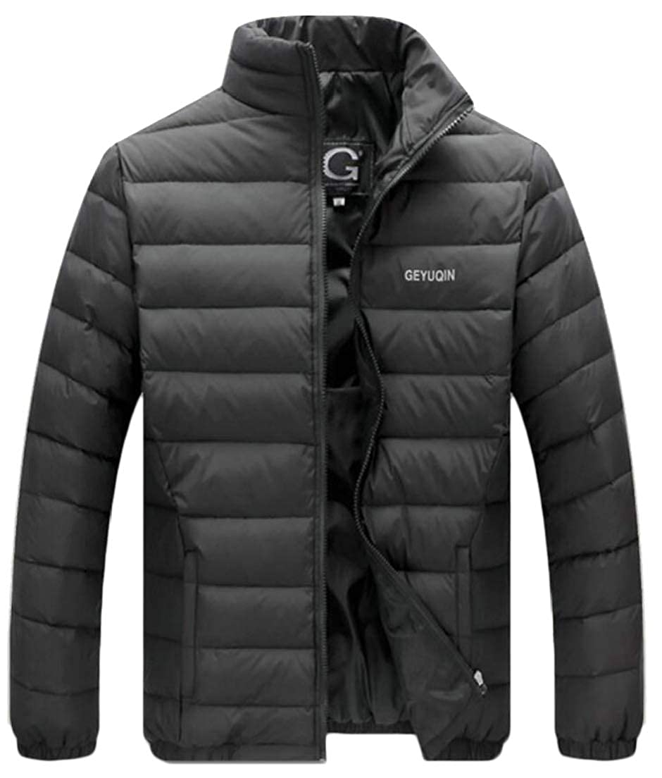 3 WSPLYSPJY Men's Men's Men's Lightweight Fashion Comfortable Zipper Down Jacket Coat adfe91