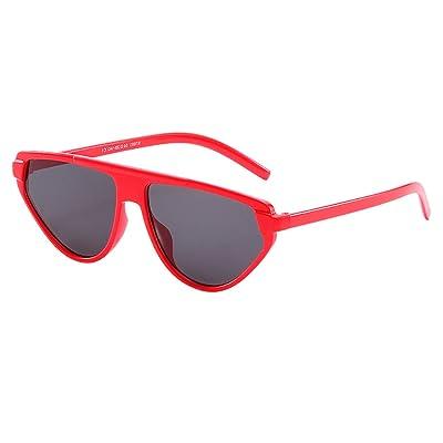 2019 moda Gafas de sol mujer hombre playa UV400 protección retro unisex Gafas de sol AC-46: Ropa y accesorios