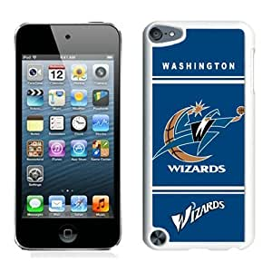 New Custom Design Cover Case For iPod Touch 5th Generation Washington Wizards 10 White Phone Case