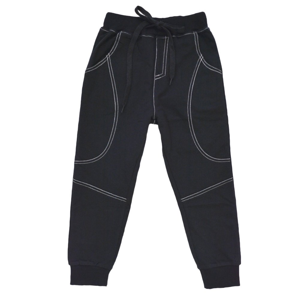 KISBINI Big Boys Cotton Sport Pant Athletic Sweatpant Trousers for Kids Children