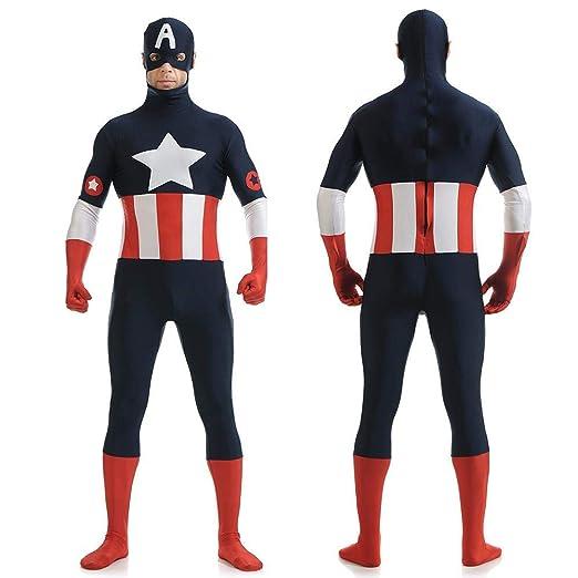 Cosplay América Capitán Anime Disfraz Cosplay Medias Ropa ...