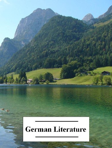 The Anthology of German Literature