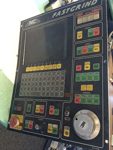 USED ANCO ANCA 96/210586 FASTGRIND CNC OPERATOR INTERFACE CONTROL PANEL CRT CO
