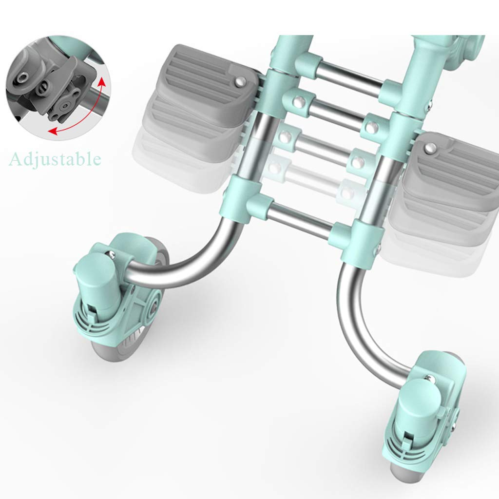 Socean Baby Carriage - Lightweight Folding Strollers, high Landscape Outdoor Travel Strollers, Super Load-Bearing, Four-Wheeled Brakes. by Baby trolley (Image #3)