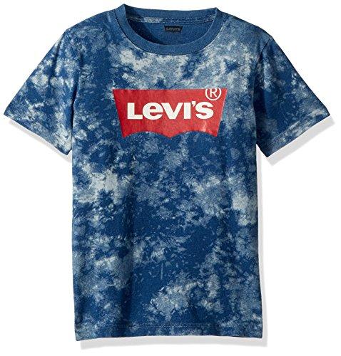wing T-Shirt, Princess Blue Tie Dye, S (Boys Blue Tie Dye)