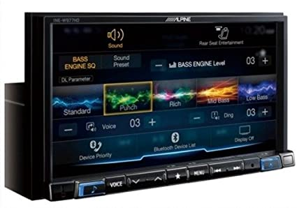 Amazoncom Alpine Ilx 207 With Alpine Back Up Camera And Sirius Xm