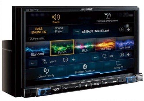 Alpine iLX-207 7-Inch Mech-Less Audio/Video Receiver by Alpine
