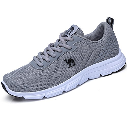 Camel Mens Trail Running Shoes Fashion Walking Sneakers Casual Athletic Sports  Shoes Grey d7a7098d3c4