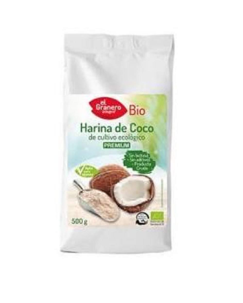Harina de Coco Bio 500G - El Granero: Amazon.es: Alimentación y ...