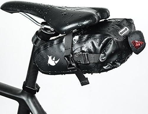 SKYSPER Bolso Bolsa de Sillín para Bicicleta Asiento Trasero ...