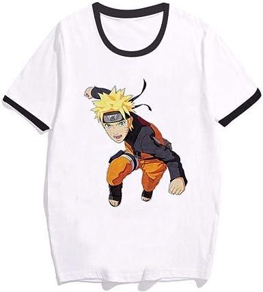 TSHIMEN Camisetas Hombre Naruto Camiseta Anime Camiseta ...