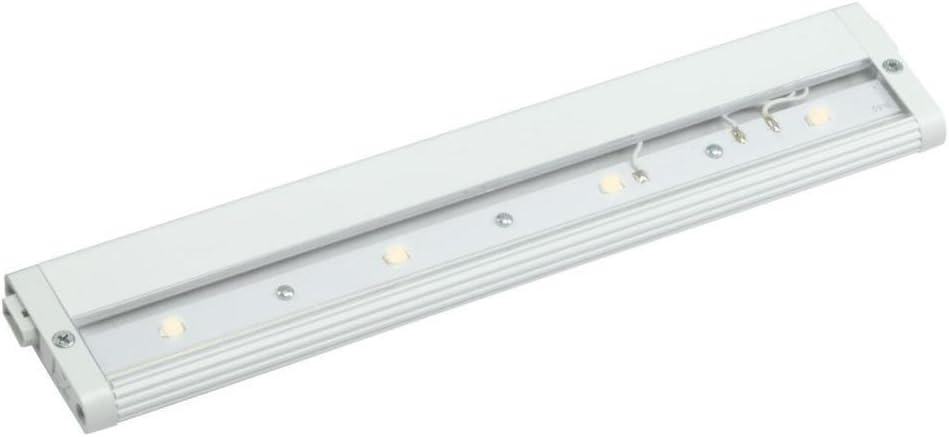 Amazon Com Kichler 12313wh27 Design Pro Led 12 Inch 24 Volt Modular Under Cabinet Fixture White Finish Home Improvement