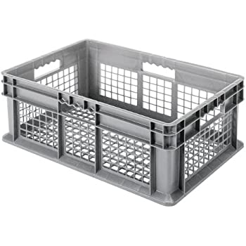 727aa07e9a16 Buckhorn SW241504A206000 Plastic Straight Wall Storage Container ...