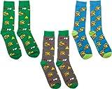 Nintendo Legend of Zelda Gift Set Three-Pack of Soft Crew Socks