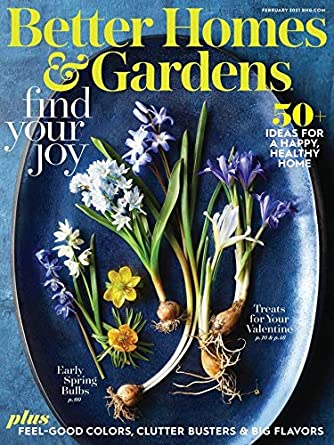 Better Homes Gardens Amazon Com Magazines