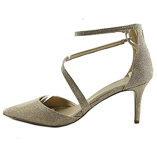 Strap Glitter Ankle Occasion Pointed Womens Sandals Badgley Gold Toe Special Mischka Zafina fCn4H47W