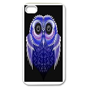 Generic Case Art Owl For iPhone 4,4S 123GY74221