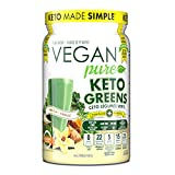 Vegan Pure SUPER GREENS with MCT | #1 Green Veggie Superfood Powder